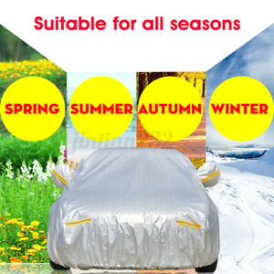 Size 3L 10 Layers Full Car Cover Outdoor Waterproof Rain UV Scratch
