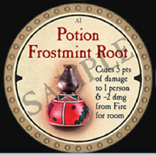 True Dungeon Token - Potion Frostmint Root