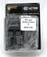 Bolt Action 402411105 SAS Jeep (Western Desert) B (British 8th Army) WWII Rats