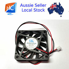 Cooling Fan 5V 60mm x 60mm x 10mm Brushless Fan cooler 2 pin GDT - Aussie Seller