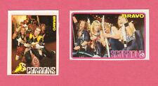 Scorpions 1980s Movie Pop Rock Music TV Mini Stickers from Germany