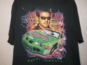 Vintage 90s 1999 Nascar Bobby Labonte T-Shirt 2XL XXL