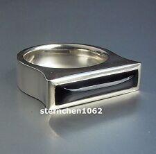 ausgefallenes Einzelstück * Ring * 925 Silber * Onyx
