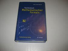 Taschenbuch mathematischer Formeln von Hans-Jochen Bartsch , 20. Aufl. (2004)
