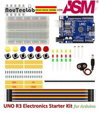 Electronics Starter Kit UNO R3 Breadboard LED Jumper Wire Button for Arduino