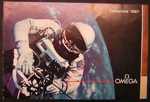 1967 OMEGA SPEEDMASTER VINTAGE ADS CATALOGO CATALOG MOONWATCH321 APOLLO 11