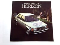 1984 PLYMOUTH GRAN FURY BROCHURE plus FULL-LINE /'84 PLYMOUTH CATALOG 2 For 1