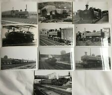 More details for lot of 10 photographs 8750 class steam locomotives