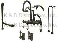 New Clawfoot Tub Faucet Oil Rubbed Bronze  CCK11T5A