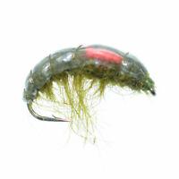 Salzwasserhaken Gr.6 GILCHRIST FLIEGEN Garnele 3 Stück Good Year Shrimp