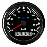 85mm 200KM/H GPS Waterproof Digital Speedometer Gauge Car Truck Boat Motorcycle