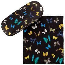 Brillenetui Hardcase Box Motiv Geschenk Damen Herren Schmetterlingszanz  7518