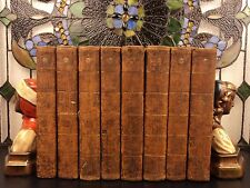 1796 History of England David HUME Julius Caesar Charles II Great Britain 8v SET