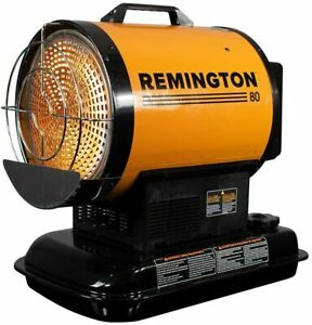 Remington REM-80-OFR-O Radiant Heating for up to 2000 Square feet, 80,000 BTU, O
