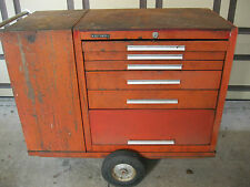 Kennedy Versa Cart. Red Model 206VC 2 cabinet and cart. Taco wagon tool box.