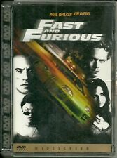 DVD Fast and Furious. Vin Diesel, Paul Walker. Super Jewel box