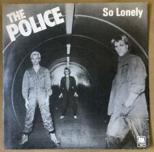 "The Police – So Lonely, Vinyl 7"" Single. Very RARE misprinted 1978 original"
