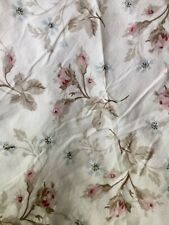 Rachel Ashwell Simply Shabby Chic Duvet White Pink Blue Rose DOLCE Full Queen