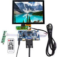 HDMI VGA AV USB LCD Driver Board 8 in EJ080NA 04C 1024X768 Capacitive Touch LCD