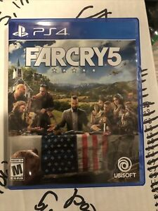 Far Cry 5 - PlayStation 4 Standard Edition No Reserve