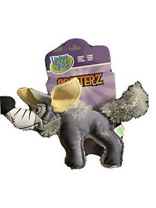 Happy Tails Critterz Wolf Dog Toy