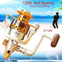 12BB Ball Bearing Fishing Spinning Reel High Speed Saltwater/Freshwater New