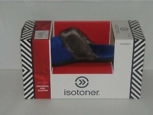 Isotoner Clog Slippers With Faux Fur Trim ~ Size (7.5-8) ~ SAPPHIRE(RM2-GRN-SL2)