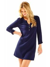 Lilly Pulitzer NWT Essie Long Sleeved Dress in True Navy $108