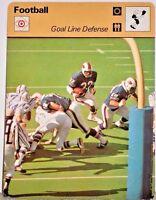 O J Simpson Bills 1978 Goal Line Defense NFL Football Sportscaster OJ Card 36-17