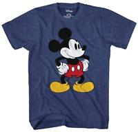 Mickey Mouse Tones Disney Classic Retro Funny Adult Men's Graphic T-Shirt Tee