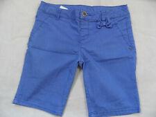 BENETTON schöne skinny Stretch-Shorts blau m. Schleife Gr. 11/12 J TOP ST719
