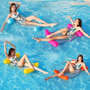 Wasser Hammock Wasserhängematte Luftmatratze Schwimmsessel Poolliege Poolsitz DE