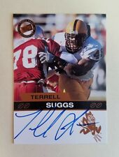 2003 Press Pass Terrell Suggs Bronze Auto Autographed Card