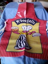 Childs Cooking Apron. McDougalls. Vintage.
