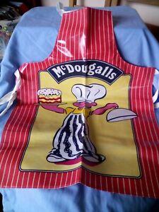 Childs Cooking Apron. McDougalls. Vintage.