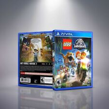 Lego: Jurassic World - PlayStation Vita Cover and Case. NO GAME!!