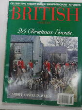 British Heritage Magazine 25 Christmas Events January 1996 081215R