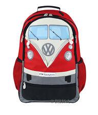 Backpack T1 Camper Van Bus Red Volkswagen VW Collection by BRISA BUBP01