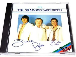 cd-album, The Shadows - Favourites, 16 Tracks, Australia