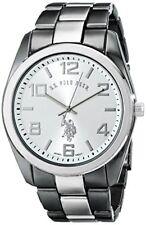 U.S. Polo Assn. Classic Mens Two-Tone Bracelet Watch