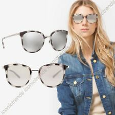 NWT☀️Michael Kors Sunglasses Adrianna MK1010 11986G Black Grey Silver Mirror54mm