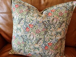 Cushion cover in William morris golden lilly price per cover please read