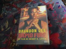 "DVD ""RAPID FIRE"" Brandon LEE / de Dwight H. LITTLE"