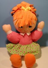 Adorable Cuddly Cute Cloth Noodle Do Kids Girl Doll Plush Stuffed Sewn Eyes 11""