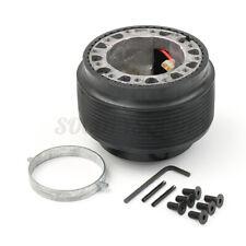 Universal Car Steering Wheel Hub Adapter Quick Release Boss Kit For VW GOLF MK2