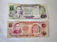 Philippine Peso Various Denomination Bank Notes. Ideal ForCollection.