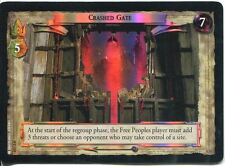 Lord Of The Rings CCG Foil Card SoG 8.U119 Crashed Gate