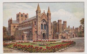 Devon postcard - Buckfast Abbey, General View, Buckfastleigh - ARQ (A3177)