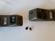 88-91 Honda CRX Power Window Bezel Screw Covers ~2 PACK~ pair trim caps cap jdm