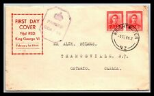 GP GOLDPATH: NEW ZEALAND COVER 1942 FIRST DAY COVER _CV787_P01